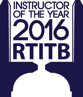 RTITB Instructor of the Year Logo