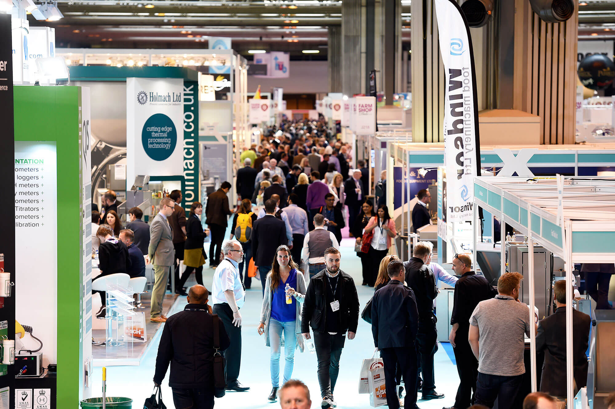 Foodex returns to offer 360° view of the UK food and drink manufacturing industry